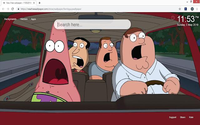 Family Guy Wallpaper HD New Tab Themes