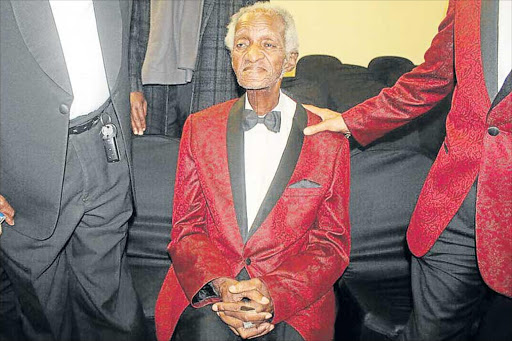 LASTING LEGACY: Samuel Tshiyembe, died on Friday at the Bhisho Hospital. He was the founding member of the Slo' Foot King Brothers jazz band that was formed in 1953 Picture: SUPPLIED