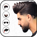 Man Hairstyles & Mustache Photo Editor icon