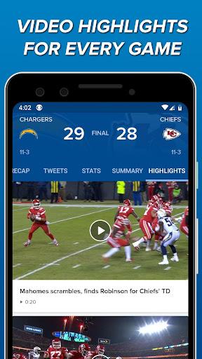 CBS Sports App - Scores, News, Stats & Watch Live 9.9.1 screenshots 6