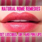 Pink Lips Natural Home Remedy
