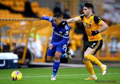 Premier League : Youri Tielemans et Leicester calent chez les Wolves