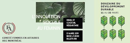 Innovation Sociale au Féminin