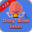 Dirty mind jokes icon