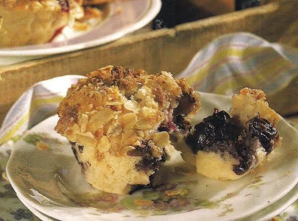 Blueberry Streusel Muffins Recipe