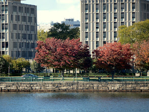 Photo: Indian summer along the waterfront.