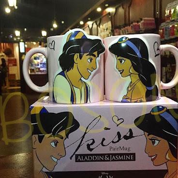 阿拉丁 & 茉莉 情侶杯