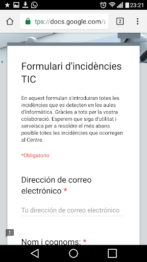 IES Serra Mariola Profesorado 1.1 screenshots 3