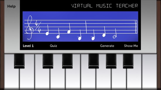 Virtual Music Teacher Screenshot