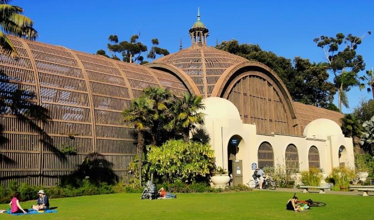 Balboa Park Botanical Garden in San Diego, CA