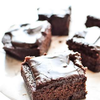 Chocolate Espresso Zucchini Brownies Recipe