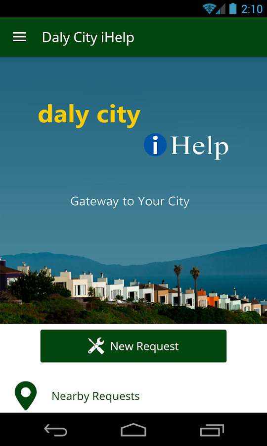 Daly City iHelp- screenshot
