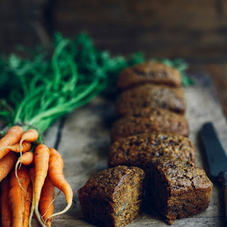 Mr McGregor's Mini Carrot Loaves.