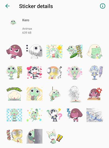 Screenshot for ZeroHart WhatsApp Sticker Collection 1 in Hong Kong Play Store