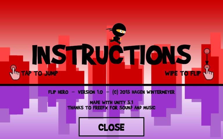 android Flip Hero Screenshot 5