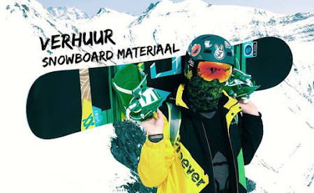 Verhuur snowboard materiaal