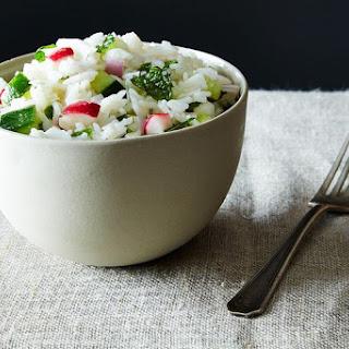 Coconut Confetti Rice Salad