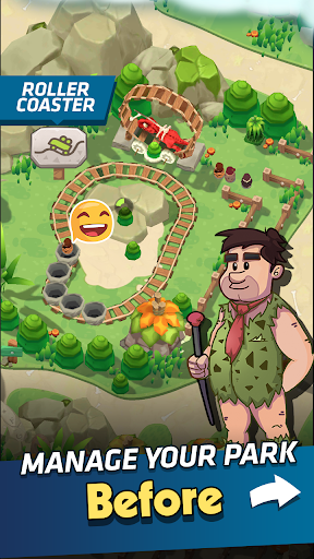 Stone Park: Prehistoric Tycoon - Idle Game apklade screenshots 2