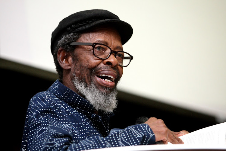 Professor Keorapetse William Kgositsile. File photo.