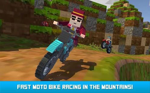 Blocky Moto Bike SIM: Winter Breeze - náhled