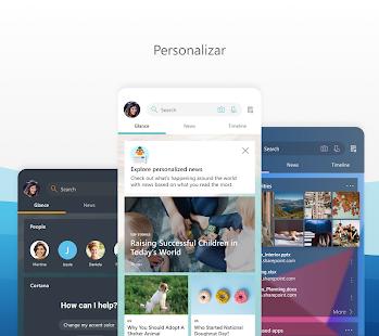 Microsoft Launcher Screenshot