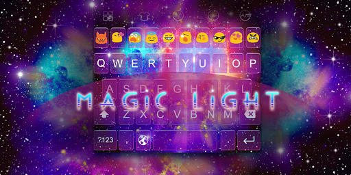 Emoji Keyboard-Magic Light
