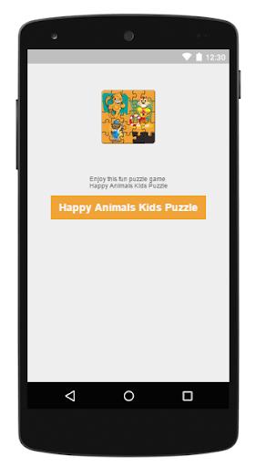 Happy Animals Kids Puzzle