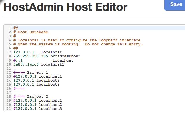 HostAdmin App