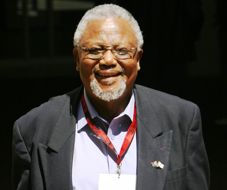 John Nkadimeng at Cosatu's ninth national congress in Midrand, in 2006.