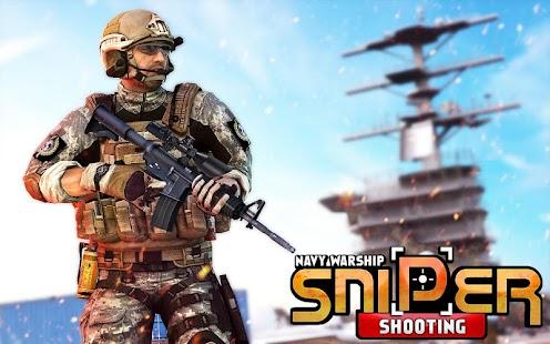 Navy Warship Sniper Shooting - náhled