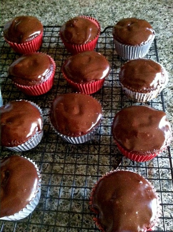 Prepare your ganache.  Using a microwave safe bowl, add your chocolate chips and...