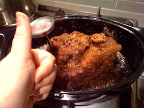 Photo: Thumbs up for pork!