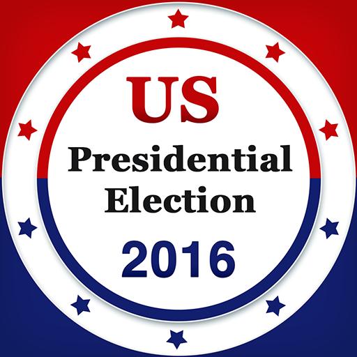 US Presidential Election 2016 新聞 App LOGO-硬是要APP