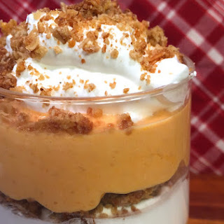 Festive Fall Greek Yogurt Pumpkin Parfait