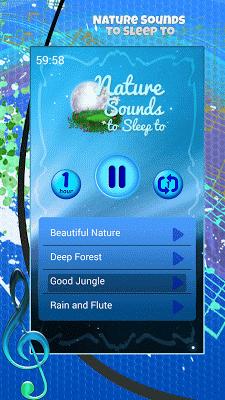Nature Sounds to Sleep to - screenshot