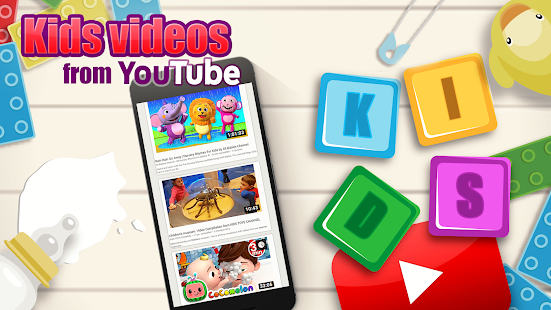 Download Kids videos from Youtube For PC Windows and Mac apk screenshot 3