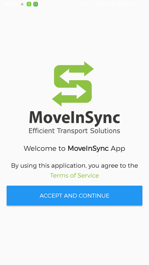 MoveInSync- screenshot