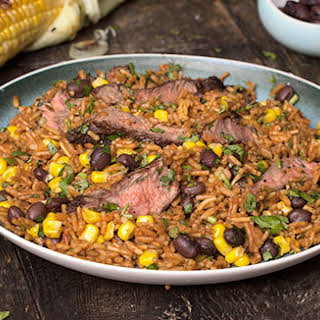 Mexican Fiesta Steak.