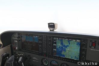 Photo: LN-NRO er på autopilot, og tar oss via ABINO og DOBEL til Roskilde.