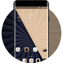 Dark Gold Luxury Theme for Karbonn A1 Android icon