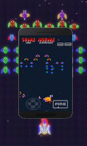 Galaxiga Retro:  Space Shooter screenshots 9
