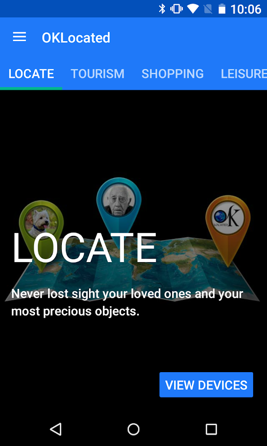 OK Located - Find everything- screenshot