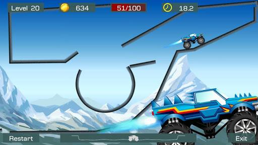 Monster Stunts -- monster truck stunt racing game  screenshots 3
