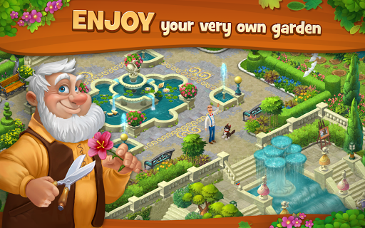 Gardenscapes game (apk) free download for Android/PC/Windows screenshot