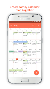 Family Shared Calendar: FamCal - náhled