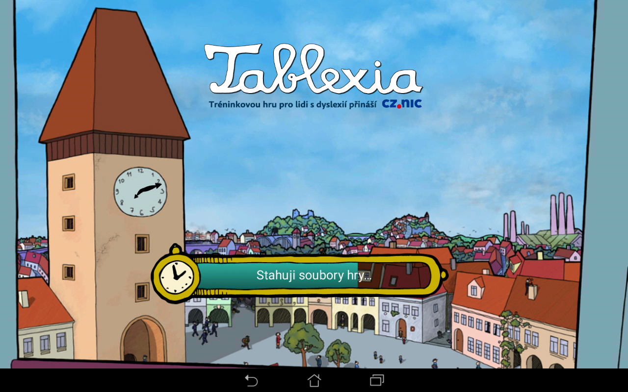 Tablexia- screenshot