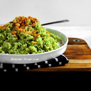 Fried Rice Go Green.