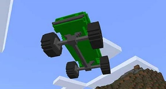 Super SUV Mod for MCPE - náhled