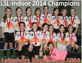Photo: FU10 2014 Lac St. Louis Indoor League Champions!