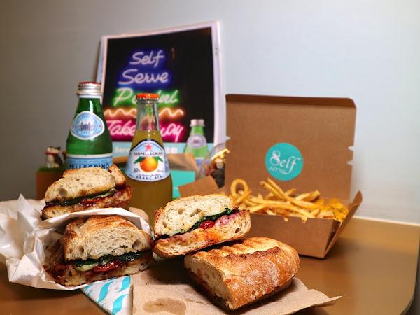 Self Serve:台南中西區隱密巷弄內特色店家.專售帕尼尼Panini三明治,讓你品嚐正統義式的好味道/新美街必吃美食